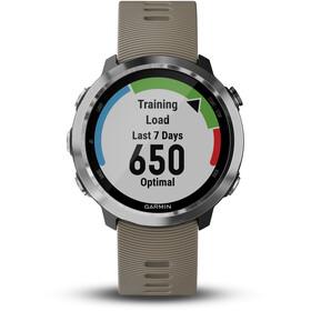 Garmin forerunner 645 Reloj Running, sandstone/silver